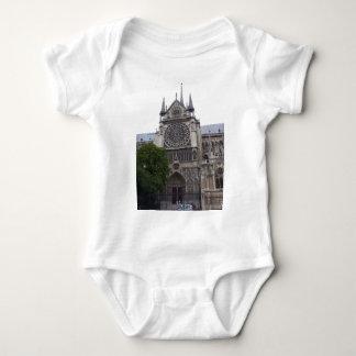 Notre Dame, Paris, France Baby Bodysuit