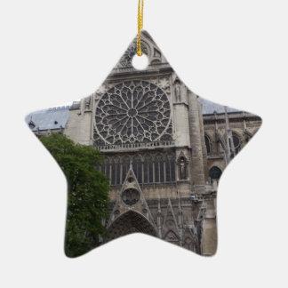 Notre Dame, Paris, France Christmas Ornament