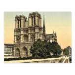 Notre Dame, Paris, France classic Photochrom