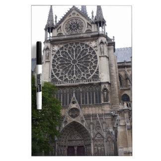 Notre Dame, Paris, France Dry-Erase Whiteboards