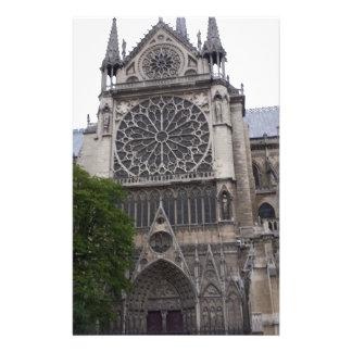 Notre Dame, Paris, France Stationery