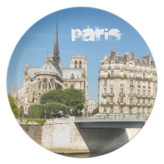 Notre Dame, Paris Plate