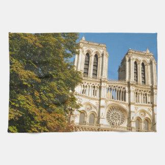 Notre Dame, Paris Tea Towel
