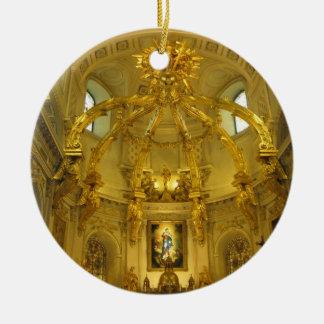 Notre Dame Quebec City Canada Ornament