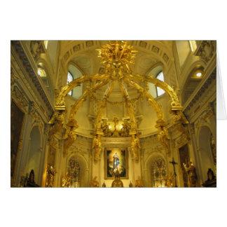 Notre Dame Quebec City, Quebec Christmas Card