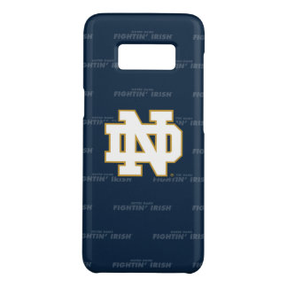 Notre Dame   Repeating Pattern Case-Mate Samsung Galaxy S8 Case