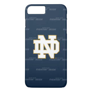 Notre Dame   Repeating Pattern iPhone 8 Plus/7 Plus Case