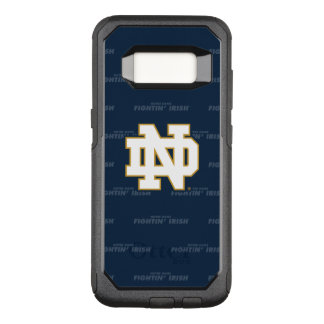 Notre Dame   Repeating Pattern OtterBox Commuter Samsung Galaxy S8 Case
