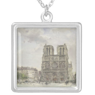Notre Dame Silver Plated Necklace
