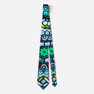 Notre Dame Stained Glass Tie