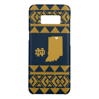 Notre Dame   Tribal State Love Case-Mate Samsung Galaxy S8 Case