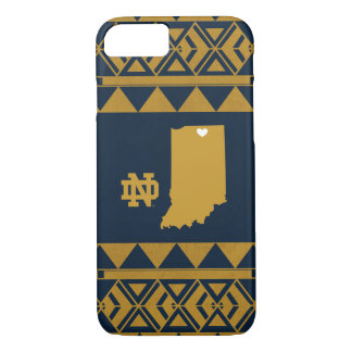 Notre Dame   Tribal State Love iPhone 8/7 Case