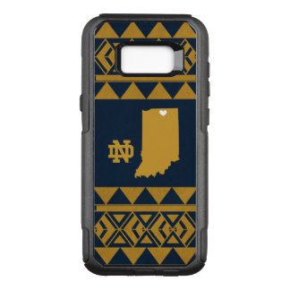 Notre Dame   Tribal State Love OtterBox Commuter Samsung Galaxy S8+ Case