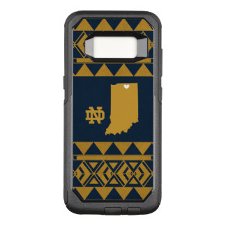 Notre Dame   Tribal State Love OtterBox Commuter Samsung Galaxy S8 Case