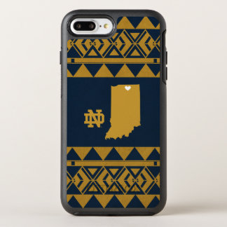 Notre Dame   Tribal State Love OtterBox Symmetry iPhone 8 Plus/7 Plus Case