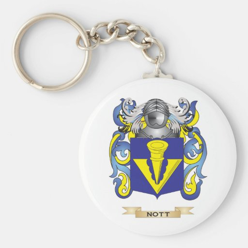 Nott Coat of Arms (Family Crest) Keychain