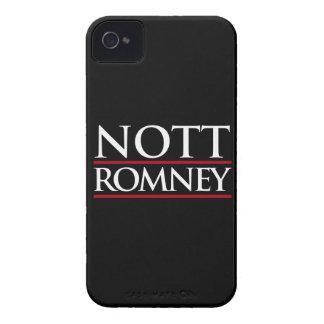NOTT ROMNEY -.png Case-Mate iPhone 4 Case