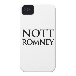 NOTT ROMNEY -.png iPhone 4 Case-Mate Case