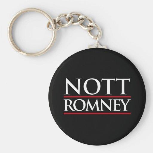 NOTT ROMNEY -.png Key Chains
