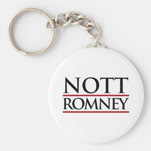 NOTT ROMNEY -.png Keychains