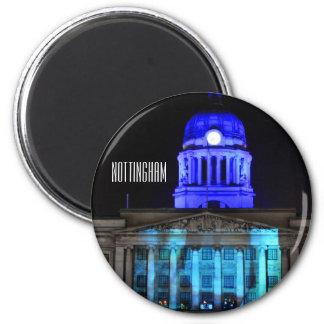 Nottingham 6 Cm Round Magnet
