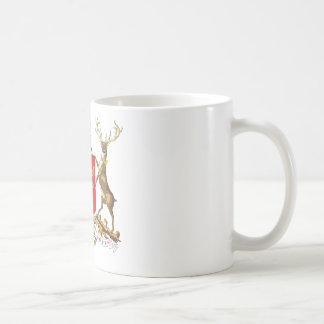 Nottingham Coat of Arms Basic White Mug