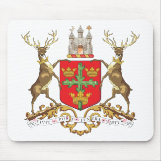 Nottingham Coat of Arms Mouse Mat