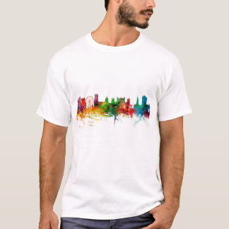 Nottingham England Skyline T-Shirt