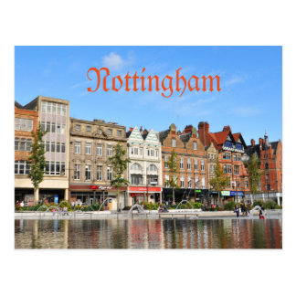 Nottingham Postcard