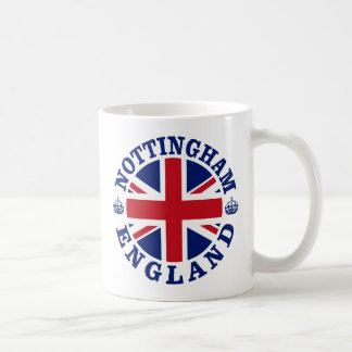 Nottingham Vintage UK Design Coffee Mug