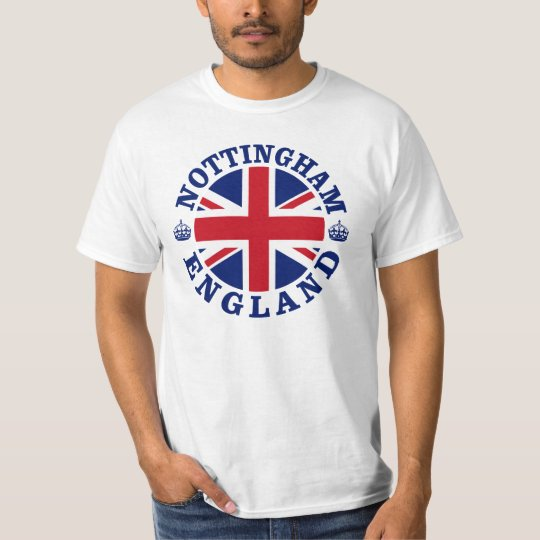 Nottingham Vintage UK Design T-Shirt