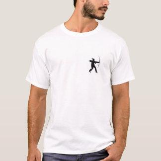 nottinghamshire region flag england robin hood T-Shirt