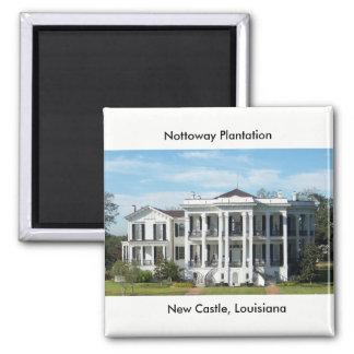 Nottoway Plantation Magnet