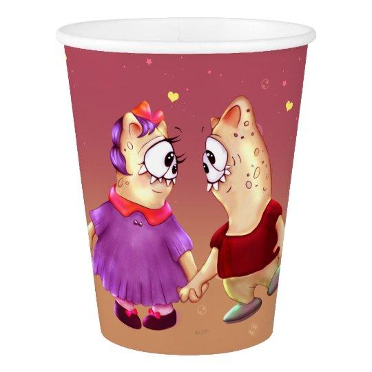 NOUNOUKS ALIENS MONSTERS  PAPER CUP