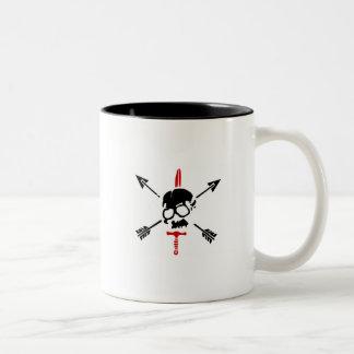 Nous Defions Two-Tone Mug