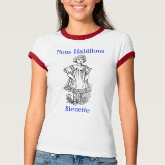 Nous Habillons Bleuette in skirt T-Shirt