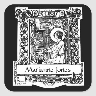 Nouveau Ex-Libris Bookplate Stickers