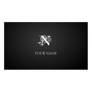 Nouveau graphite pack of standard business cards