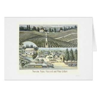 Nouveau Medoc Vineyard and Wine Cellars Card