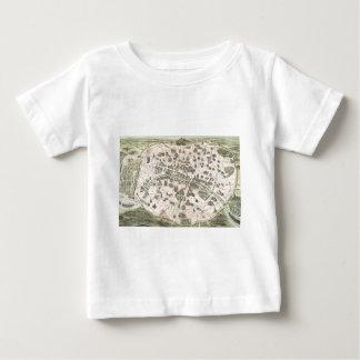 Nouveau Paris Monumental Map Baby T-Shirt
