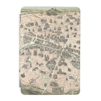 Nouveau Paris Monumental Map iPad Mini Cover