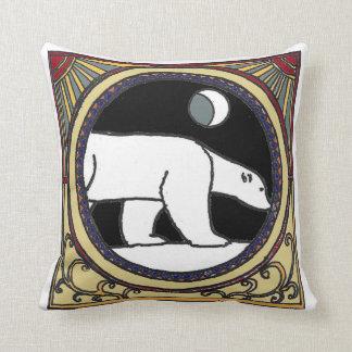 Nouveau Polar Bear Cushion