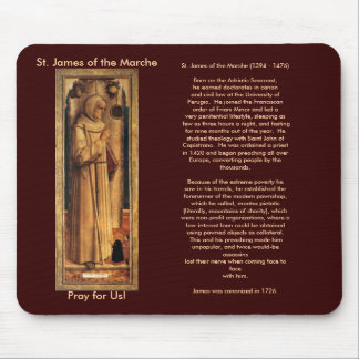Nov 28 St. James of the Marche Mouse Pad