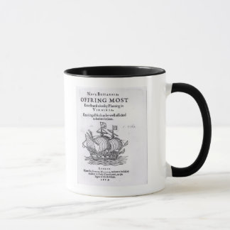 Nova Britannia. Offring Most Excellent Fruites Mug