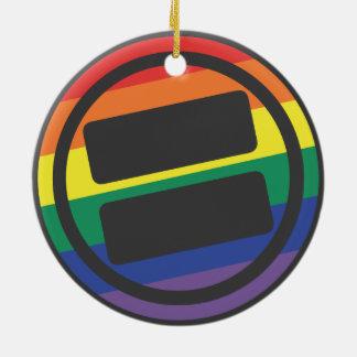 NOVA Pride Circle Ornament
