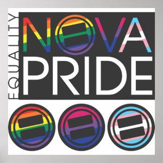 NOVA Pride Combo Logo Poster