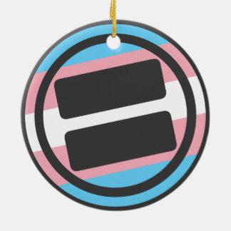 NOVA Pride Transgender Circle Ornament