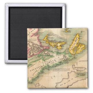 Nova Scotia and New Brunswick 44 Magnet
