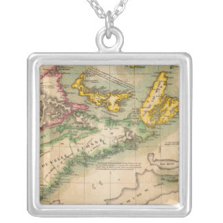 Nova Scotia and New Brunswick 44 Silver Plated Necklace