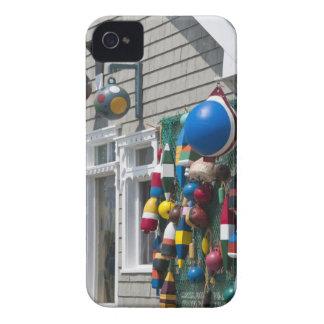 Nova Scotia, Canada. Buoy shop in  Blue Rocks in Case-Mate iPhone 4 Cases